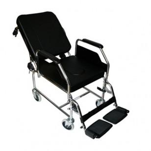 Comprar silla de ruedas con inodoro y reclinable sr200 comprar en tienda de ortopedia de calidad - Silla de ruedas con inodoro ...