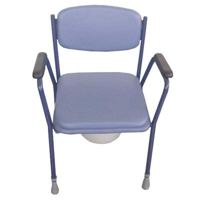 Silla inodoro tapizada comprar silla wc y sillas con for Altura silla