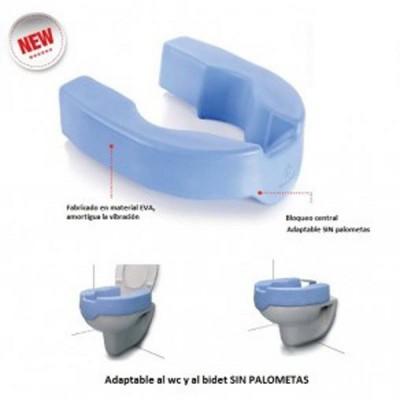 Alza wc y bidet blanda 97 50 comprar alza para inodoro for Bidet para wc