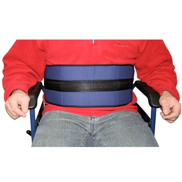 Cintur n de sujeci n ancho para silla de ruedas o sill n for Sillas para duchar ancianos
