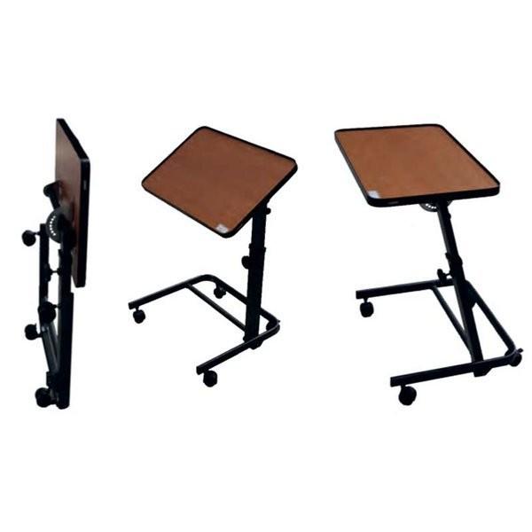 Mesa para silla de ruedas 84 90 comprar mesa para silla for Mesas de madera baratas precios