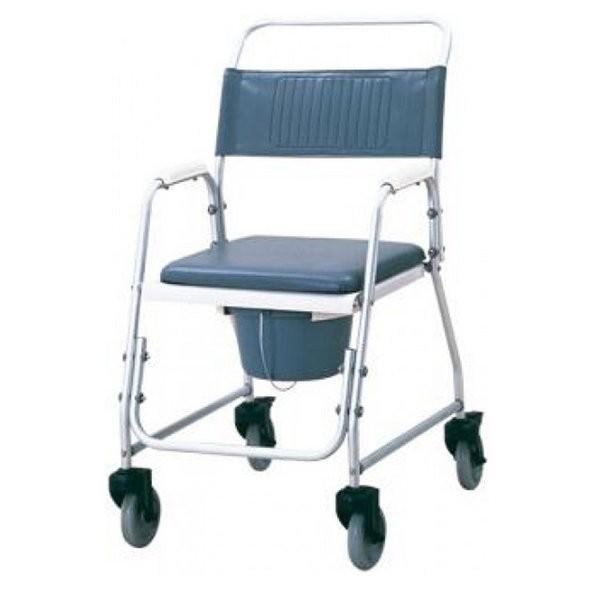 Silla de ducha con inodoro 154 90 ortopedia online for Sillas para duchar ancianos