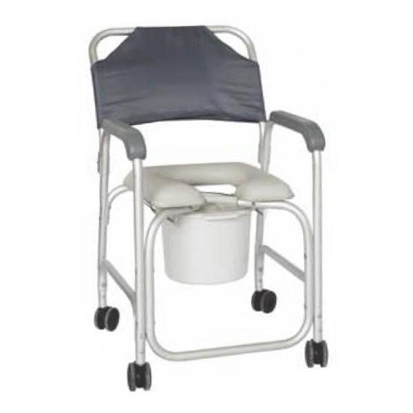 Silla de ducha con inodoro 116 90 ortopedia online for Sillas para duchar ancianos