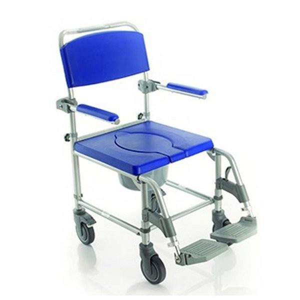 367 silla de ruedas para ducha y wc comprar silla de for Sillas para inodoros