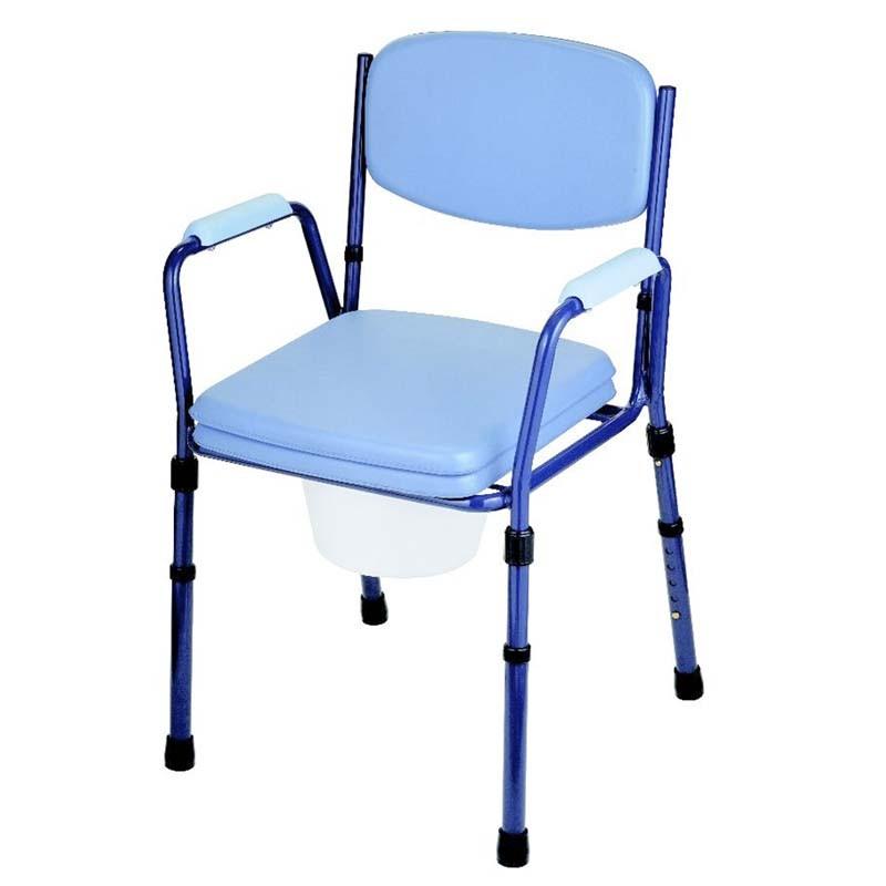Silla inodoro tapizada comprar silla wc y sillas con for Sillas para inodoros