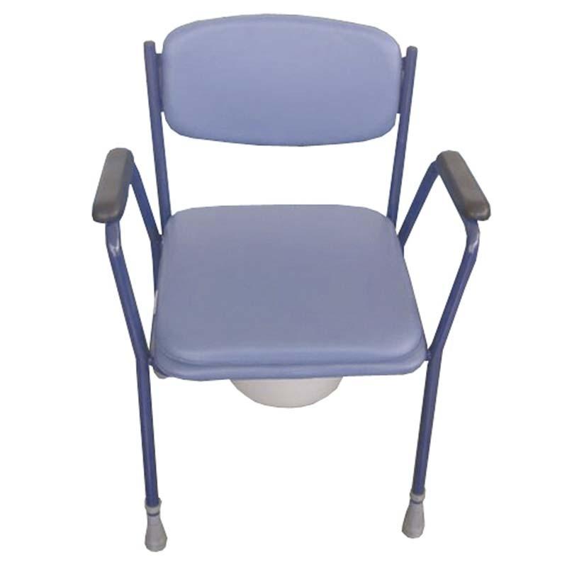 Silla inodoro tapizada comprar silla wc y sillas con for Sillas comodas baratas