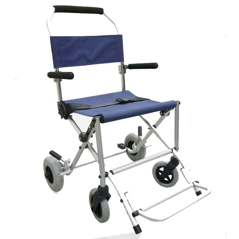 Silla de ruedas de traslado comprar silla de traslado o for Sillas cromadas precios