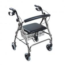Andador Ortopédico ANDO900 con Asiento y Frenos