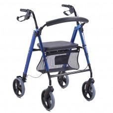 Andador para Ancianos MAX Con Frenos y Cesta