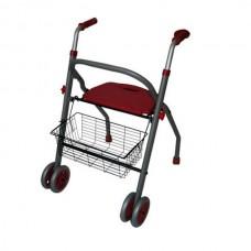 Caminador ALBA Ortopédico con Asiento de Aluminio