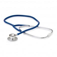 Fonendoscopio Adulto Doble Campana Aluminio Azul