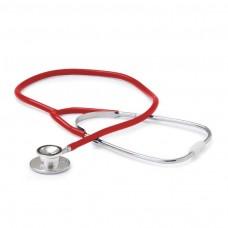 Fonendoscopio Adulto Doble Campana Aluminio Rojo