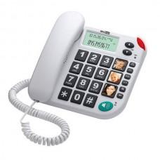 Teléfono Ancianos WHITE Fácil Uso con Fotografías
