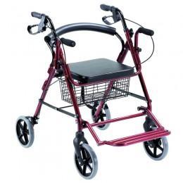 Andador para Ancianos y Silla de Ruedas 2 en 1 COMBI