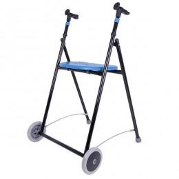 Andador Adultos Forta AIRON Acero con Asiento Azul
