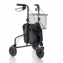 Andador para Adultos METT Ligero con Bolsa y Cesta