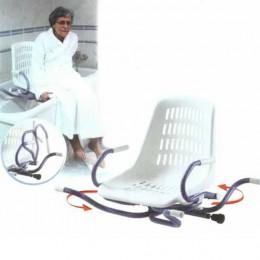 Asiento de Bañera SPIDRA Brazos Abatibles y Giratorio
