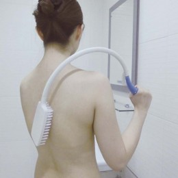 Cepillo de Baño Curvado para Movilidad Reducida