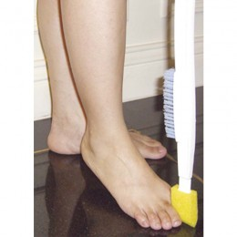 Cepillo con Esponja de Pies para Movilidad Reducida