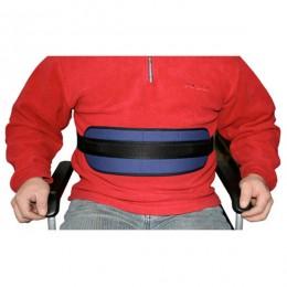 Cinturón de sujeción estrecho para silla de ruedas o sillón