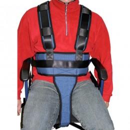 Cinturón completo de sujeción para silla de ruedas