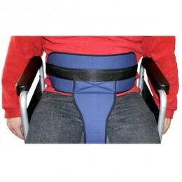 Cinturón completo de sujeción para silla de ruedas o sillón