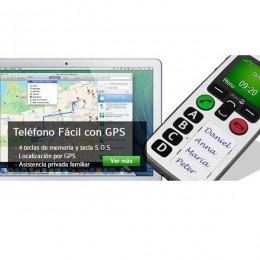 Móvil para Ancianos DORO 580IUP GPS+Detector de Caídas