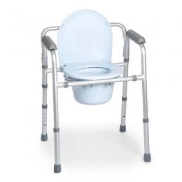 Silla para Ducha MINT 4en1 con WC Plegable