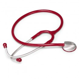 Fonendoscopio para Adulto de Zinc Anodizado Rojo