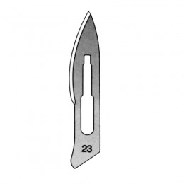 Hoja de Bisturí Nº 23, Caja con 100 Unidades