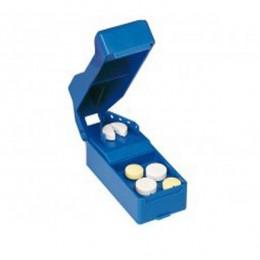 Partidor de Comprimidos BLUE Fácil Uso