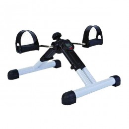 Pedaleador Digital Manual Plegable en Blanco GA3