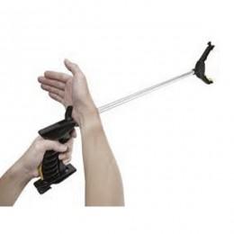 Pinza coge objetos con sitema de gatillo