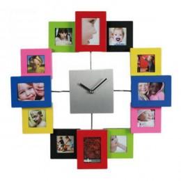 Reloj de Pared PHOTO con Fotografías