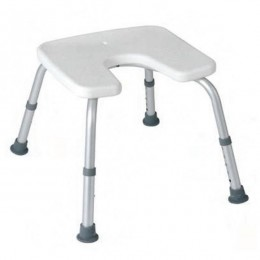 Silla de Ducha TOP Regulable con Hueco Sanitario