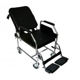 Silla de ruedas con inodoro y reclinable SR200