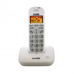 Teléfono DECT Ancianos Blanco Teclas Extra Grandes