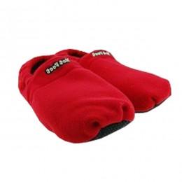 Zapatillas calentables en microondas
