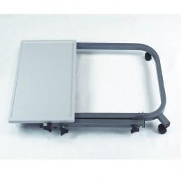Mesas con ruedas cheap sobuy mesa auxiliar con ruedas for Mesa plegable groupon