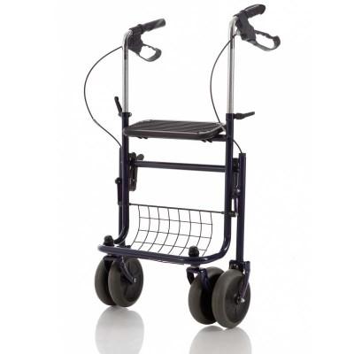 Andador para Ancianos WALK 12 con Cesta y Bandeja