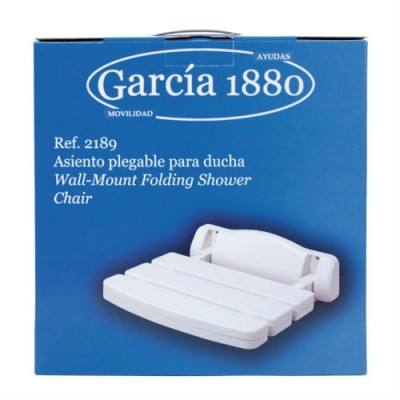 Asiento Deluxe abatible de pared