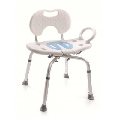 Silla para ducha giratoria 135 comprar silla para for Sillas con reposabrazos baratas