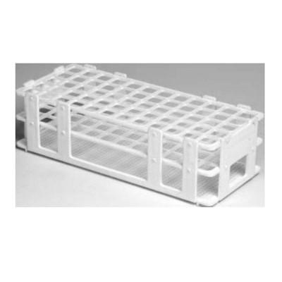 Gradilla para 24 Tubos de Diámetro 25 mm, Plástico