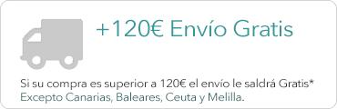 Envío gratis +120€