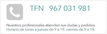 Teléfono 967 031 981